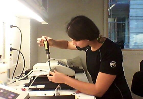 Práce v laborce