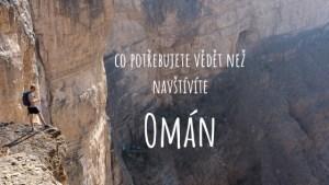 Dovolená Omán nadpis