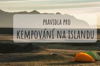 Pravidla pro kempování na Islandu