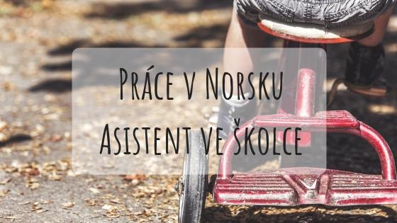 Práce v Norsku asistent ve školce