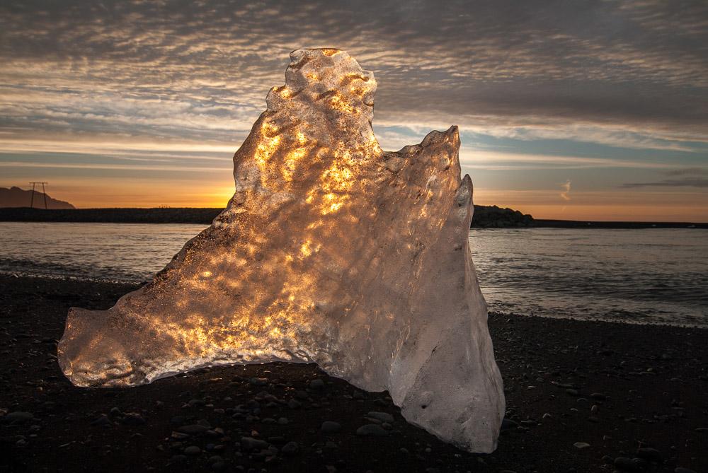 Co navštívit na Islandu - Jih Islandu - Diamantová pláž