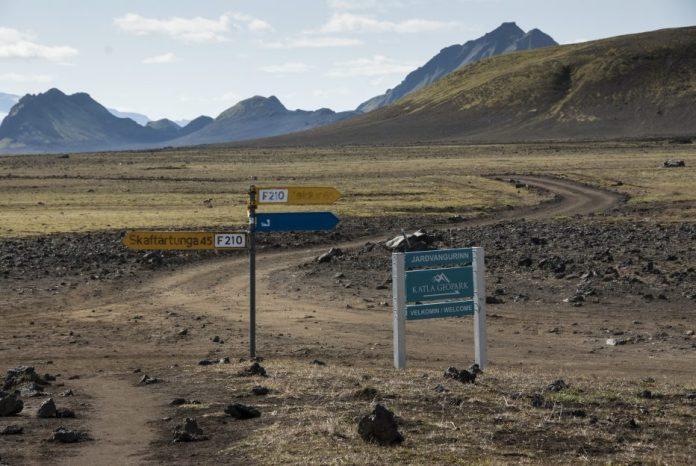 Silnice v islandském vnitrozemí F roads