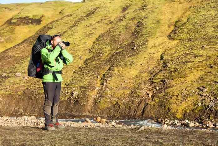 Vybavení na Laugavegur trek na Islandu