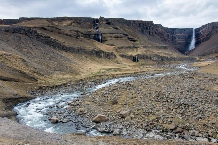 Vodopád Hengifoss, Východní Island