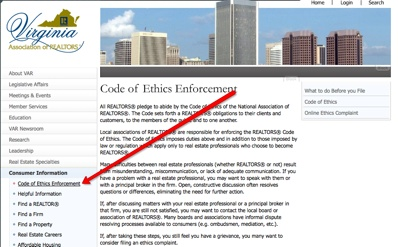 Var-Code-Of-Ethics-Enforcement