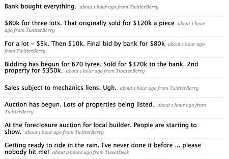 Jim Duncan Twitter Stream albemarle charlottesville Foreclosure