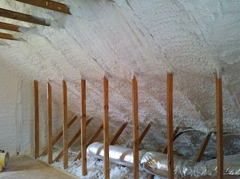 Finished insulation