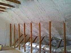 Foam insulation in my attic