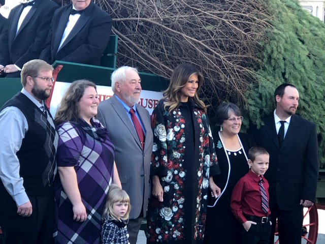 White House Christmas Tree Delivered 2020 NCTA Delivers 2019 Blue Room Christmas Tree to the White House