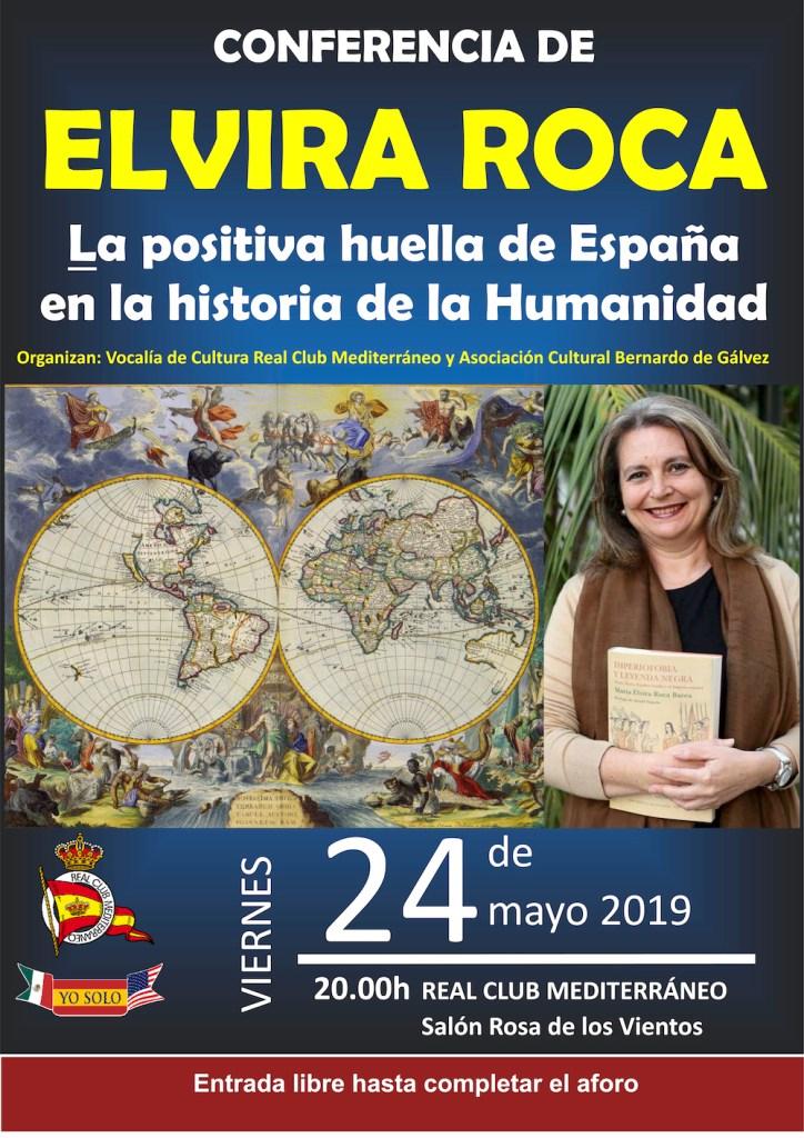 Conferencia de la escritora y profesora Elvira Roca