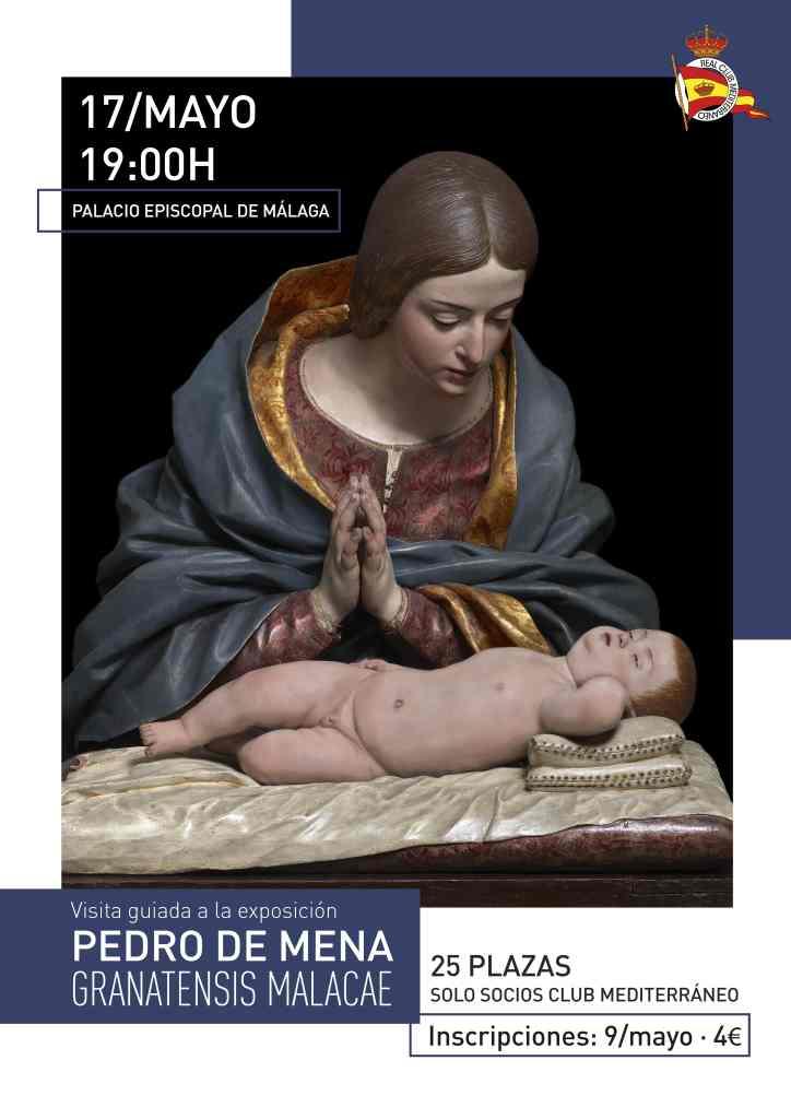 """Visita guiada a la exposición """"Pedro de Mena. Granatensis Malacae"""" en el Palacio Episcopal"""