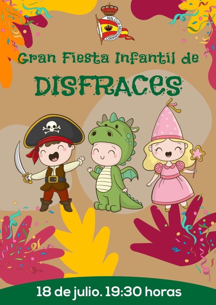 Llega la Fiesta Infantil de disfraces