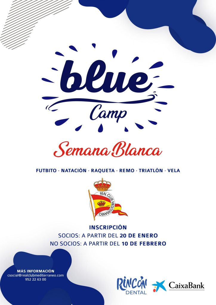 Inscripción Blue Camp Semana Blanca