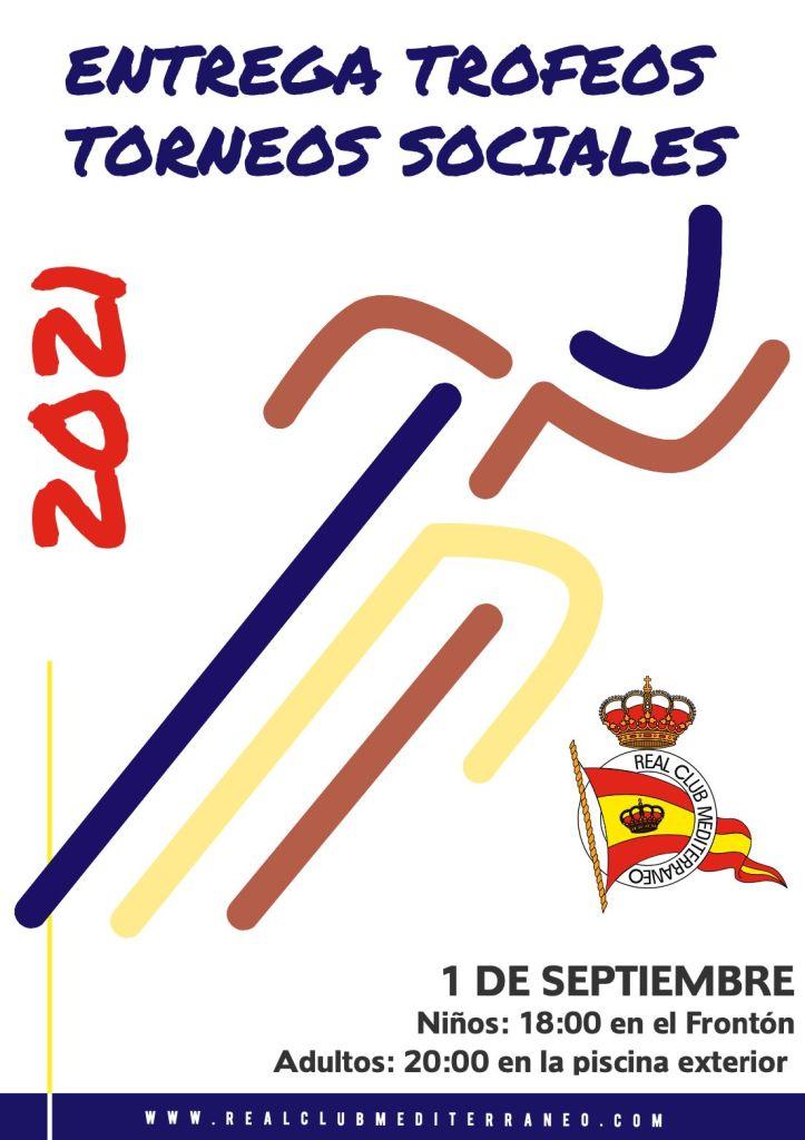 Entrega de trofeos de los Torneos Sociales 2021