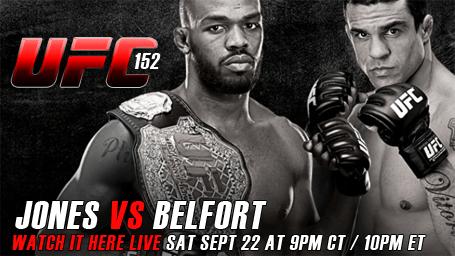 UFC 152 ao vivo