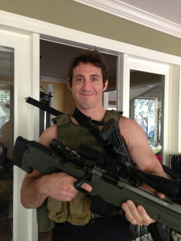 Tim Kennedy Special Forces Black Rifle Coffee