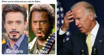 "Biden Faces Meme Onslaught Following ""Ain't Black"" Remark"