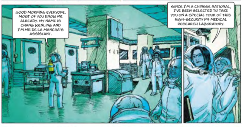 Bizarre EU-Funded Comic Book Predicted Pandemic, With Globalists As Saviours