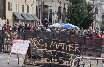 "Seattle Protesters Establish ""Autonomous Zone"" After Police, National Guard Pull Out"