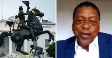 BET Founder: 'Black People Laugh at White People' Who Topple Statues, Cancel TV Shows
