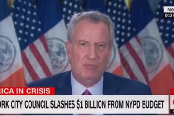 De Blasio Trashes 1st Amendment: Leftist Protests and Church Services Are 'Apples and Oranges'