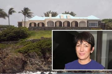 Ghislaine Maxwell Pedo Sex-Trafficking Investigation Launched In Virgin Islands