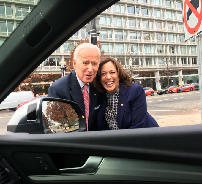 more Biden and Harris