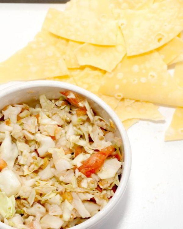 Сальса с капустой простой домашний рецепт пошагово с фото