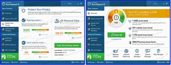 Screenshot of Auslogics BoostSpeed Keygen
