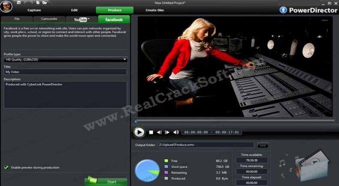 CyberLink PowerDirector Crack Screenshot