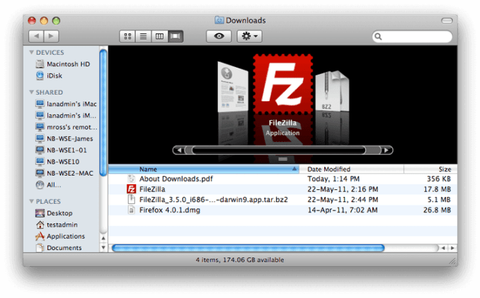 Download FileZilla for Mac