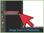 Image trace in Photoshop [Live Tracing Steps]