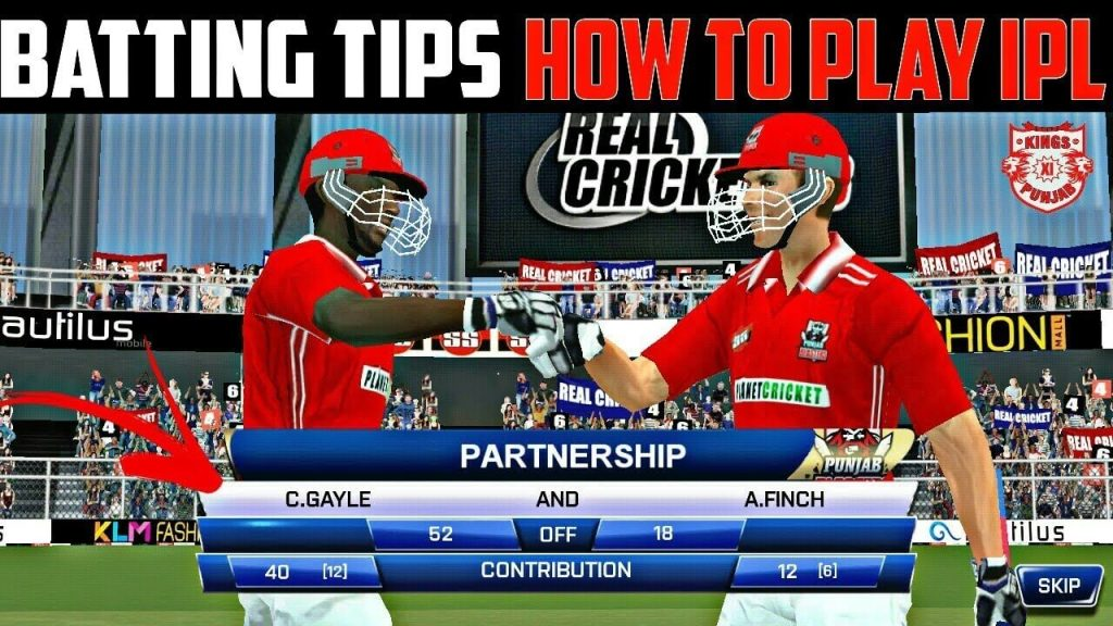 Real Cricket 20 Batting Tips