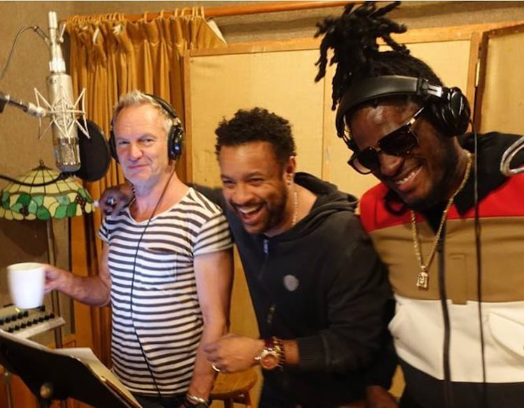 Aidonia Working On New Music With Shaggy & Sting
