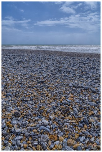 Pebbles to the sea