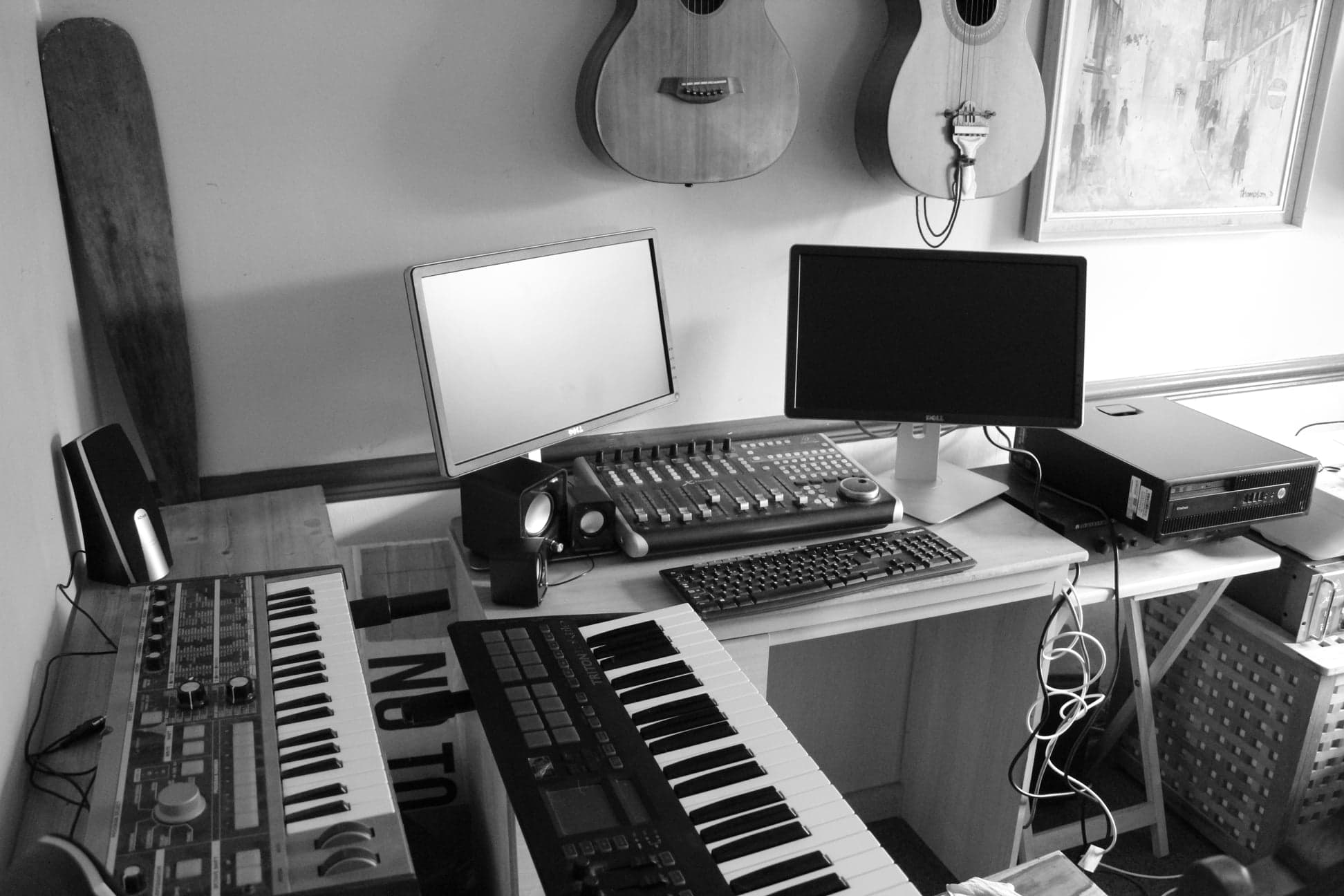 Some photo's of the new studio set-up