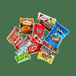 Snoep, koek, chips & zoutjes