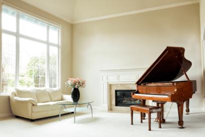 音楽のある家