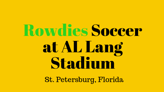 Rowdies Soccer at St. Petersburg