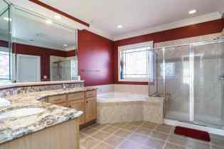 021_Presented by MORE Real Estate_405 Braswell Brook Court_Master Bathroom