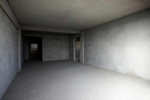Empty house without staging
