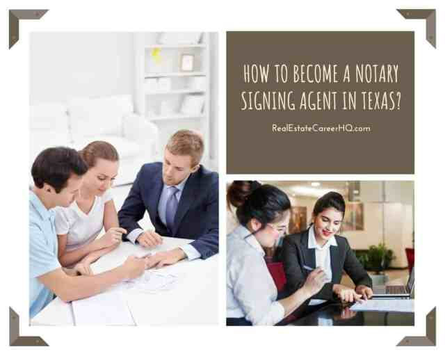 How to become a notary loan signing agent in Texas?