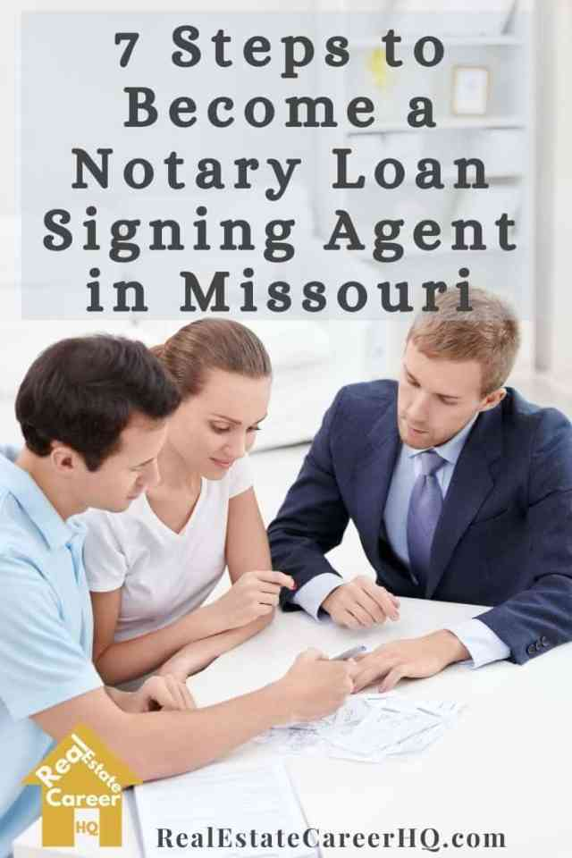 Steps to Become a Notary Loan Signing Agent in Missouri