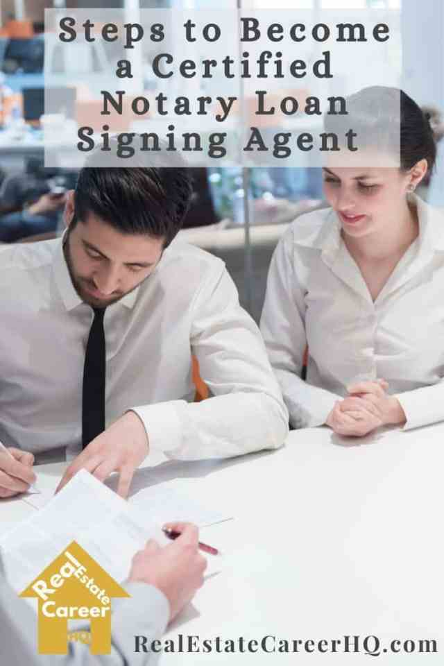 Steps to become a certified notary signing agent
