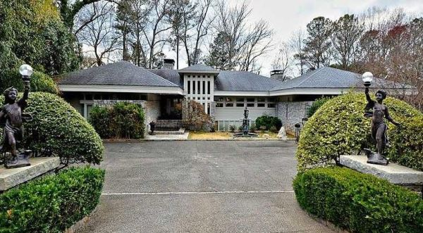Estate Home Atlanta Country Club Marietta