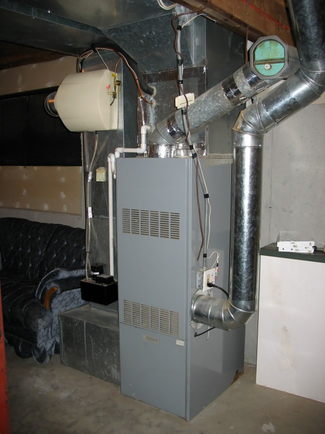 Furnace in rental house