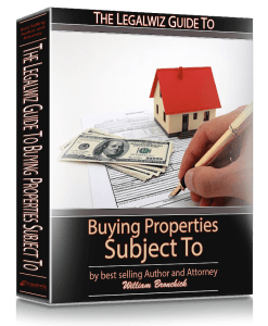 buying real estate subject to