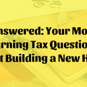 New home tax