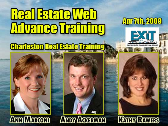 Charleston Real Estate Web Strategy Advanced Training - Tuesday April 7th, 2009