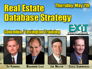 Columbia / Lexington Real Estate Database Strategy Training May 7th, 2009